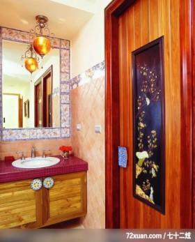 丁薇芬_09_北市北投,艺堂室内设计,李燕堂,浴室,洗脸台面,收纳柜,