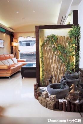 现代禅风的居家,东易日盛亚奥工作室,石海峰,客厅,阳台落地窗,造型沙发背墙,独创设计,造型天花板,隔