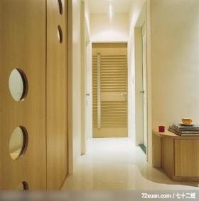 风水融入生活居家,东易日盛CBD工作室,赵庭辉,走道,隐藏门,
