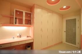 墨比雅_11_新竹县,云邑室内设计,李中霖,卧室,阅读区,造型天花板,造型衣橱,穿透设计,