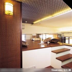 日月鼎_12_ 北县,权释设计,洪韡华,多功能室,垫高地板,造型天花板,造型灯光,穿透设计,