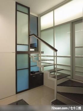 量身定做的家居 业主爱不释手,龙发,董文斌,楼梯间,造型楼梯,矮柜,穿透设计,