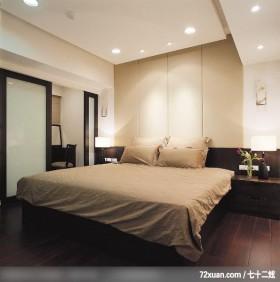 IS_60_北县,云邑室内设计,李中霖,卧室,化妆台,造型主墙,床头柜,造型天花板,