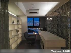 聿和_04_北市松山区,春雨时尚空间设计,周建志,多功能室,玻璃隔间,造型天花板,冷气摆放设计,展示