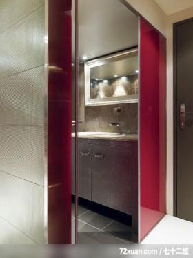 建构线_01_北市,权释设计,洪韡华,浴室,洗脸台面,收纳柜,