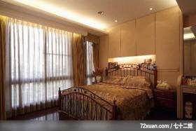 艺堂_14_台中市,观林室内设计工程,黄传林,卧室,造型天花板,造型主墙,化妆台,床头柜,
