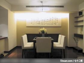 汤镇权_13_北市,云邑室内设计,李中霖,餐厅,造型天花板,冷气摆放设计,收纳层板,造型主墙,