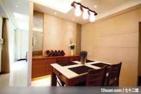 观林_01_桃园市,东易日盛CBD工作室,吴巍,餐厅,酒柜,造型灯光,造型天花板,背景墙,