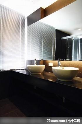 观林_02_北市,东易日盛CBD工作室,李文剑,浴室,洗脸台面,