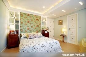 EASYDECO_03_北市,观林室内设计工程,黄传林,卧室,造型天花板,造型主墙,床头柜,