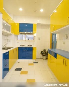 瑞德_07,觐得空间设计,游淑慧,厨房,流理台主墙,收纳柜,造型天花板,