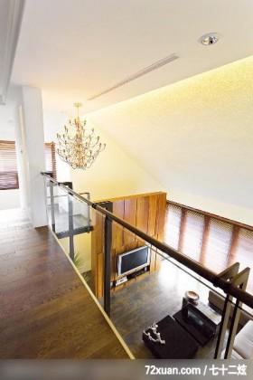 山区别墅的经典设计,观林室内设计工程,黄传林,走道,造型灯光,冷气摆放设计,造型天花板,造型楼梯,穿