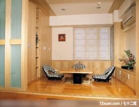 瑞德_17,权释设计,洪韡华,多功能室,冷气摆放设计,收纳柜,电视柜,垫高地板,升降桌,