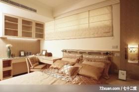 罗煜_02,觐得空间设计,游淑慧,卧室,造型主墙,冷气摆放设计,阅读区,收纳柜,造型灯光,
