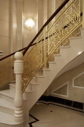 欧式风格楼梯#楼梯装修效果图95