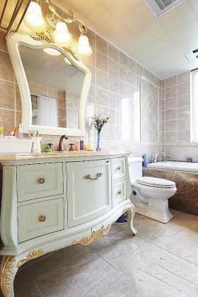 新古典风格洗手台装修效果图236
