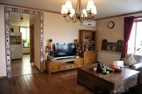 140平别墅客厅电视柜装修效果图152