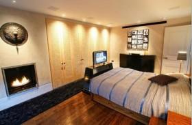 130平别墅卧室床装修效果图626