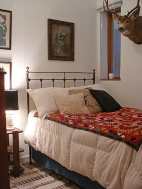 70平美式乡村别墅卧室装修效果图593