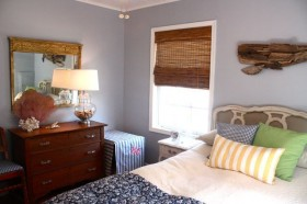卧室背景墙装修效果图697