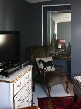 混搭风格卧室装修效果图697