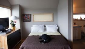 60平简约卧室床装修效果图520
