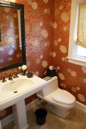 卫生间背景墙装修效果图217