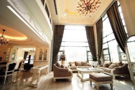 140平别墅客厅沙发装修效果图675
