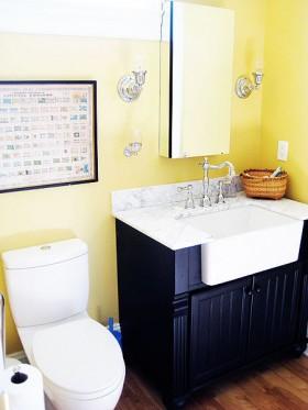 130平别墅卫生间装修效果图210