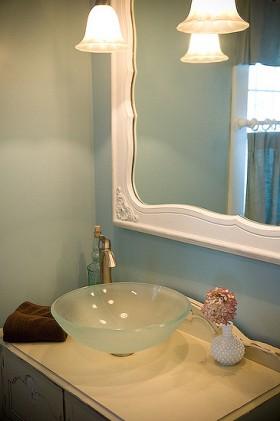 140平公寓卫生间洗手台装修效果图151