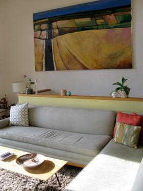 沙发背景墙装修效果图612
