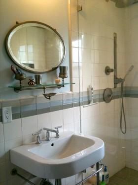140平别墅卫生间洗手台装修效果图186