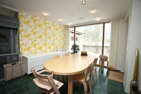 150平欧式别墅餐厅装修效果图301