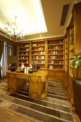 书房背景墙装修效果图75