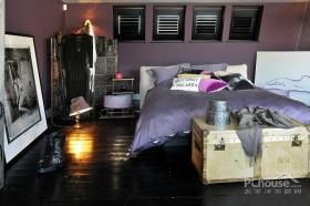 迷幻黑色魅影公寓设计