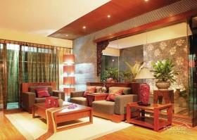 亚热带风情的色彩东南亚