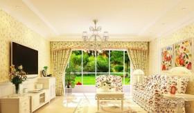 唯美自然的韩式三居室