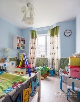 谧蓝复式新古典实用家居
