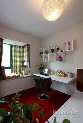 105平现代亮丽二居室