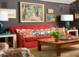 个性实用的色彩家居设计