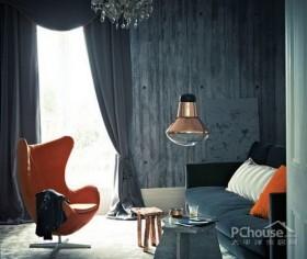 小户型客厅壁纸装饰