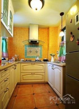 温馨舒适厨房装修