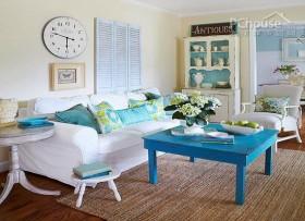 """蓝色设计为家增""""色"""""""