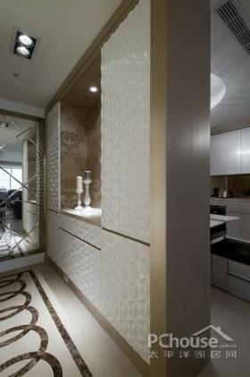 北欧风古典圆舞3房设计