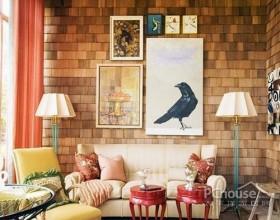 色彩鲜艳的客厅装扮