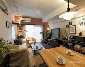 日式风情60㎡小居室装饰