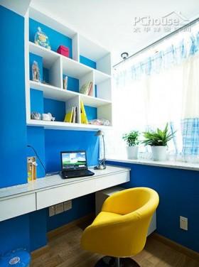 大胆色彩打造2套实用小户型家居