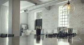 创意时尚工业阁楼