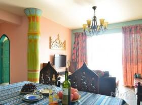 色彩浓烈的波西米亚别墅