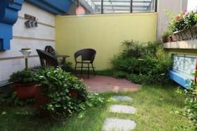 美式风格170平复式loft设计 庭院装修效果图
